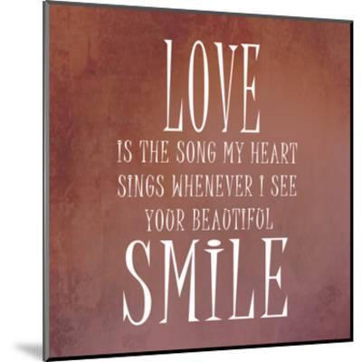 Your Smile-Sheldon Lewis-Mounted Art Print