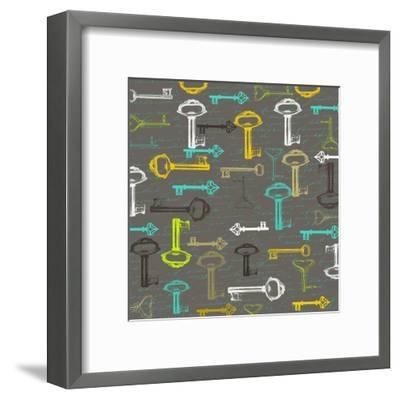 Key Of Love-Sheldon Lewis-Framed Art Print
