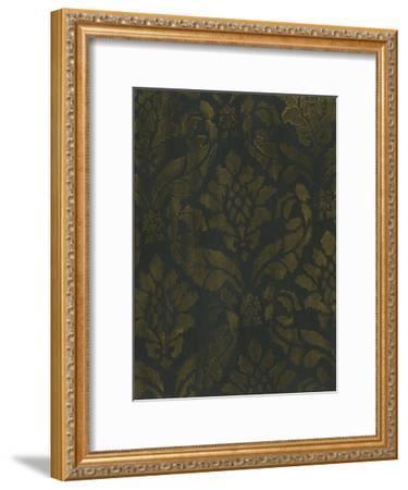 Gold Damask-Smith Haynes-Framed Art Print