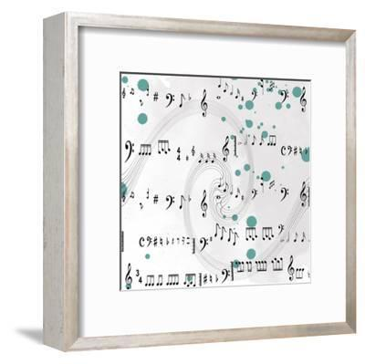 Painted Music-Sheldon Lewis-Framed Art Print