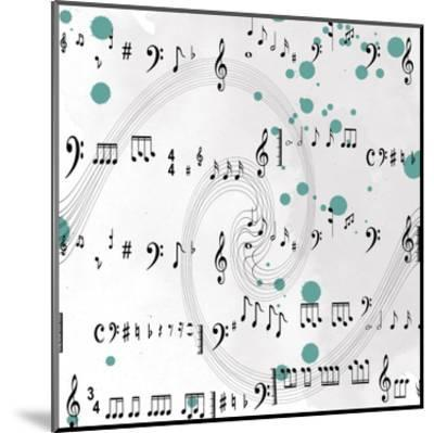 Painted Music-Sheldon Lewis-Mounted Art Print