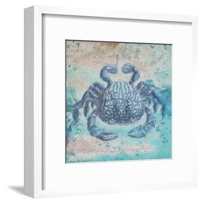 Sea Crab-Sheldon Lewis-Framed Art Print