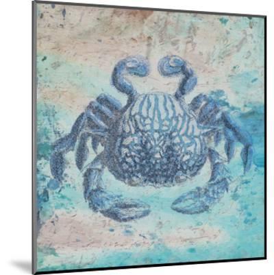 Sea Crab-Sheldon Lewis-Mounted Art Print