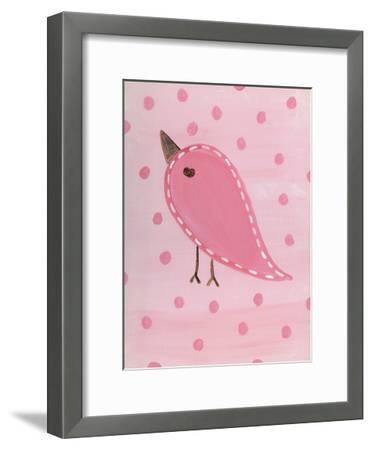 Heart Chick 3-Tammy Hassett-Framed Art Print
