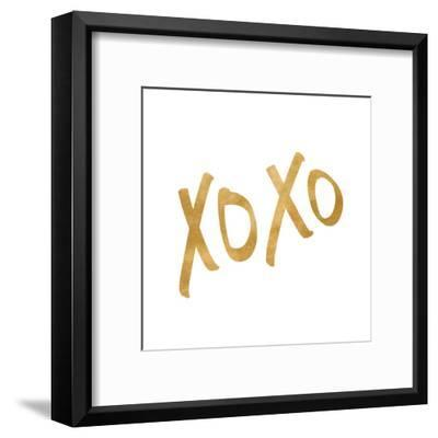 Romantic Icon I (gold foil)--Framed Art Print