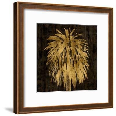 Palms In Gold I-Kate Bennett-Framed Giclee Print
