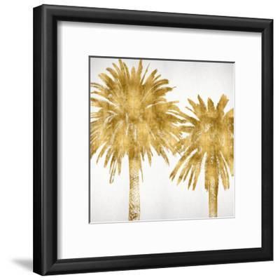 Palms In Gold IV-Kate Bennett-Framed Giclee Print