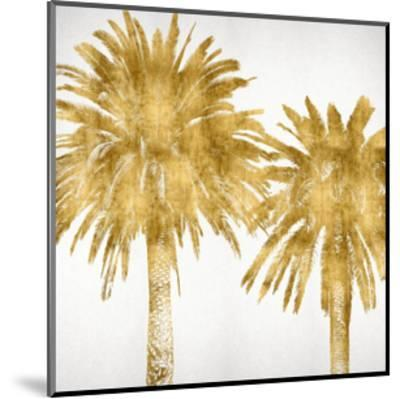 Palms In Gold IV-Kate Bennett-Mounted Giclee Print
