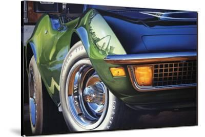 Corvette 1970 in St. Louis-Graham Reynold-Stretched Canvas Print
