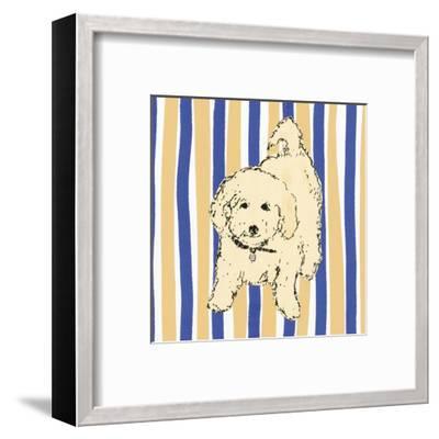 Boho Dogs VII-Clare Ormerod-Framed Art Print