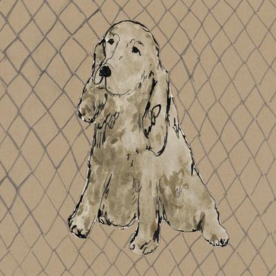 Boho Dogs II-Clare Ormerod-Framed Art Print