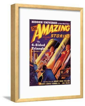 Out of this World I-The Vintage Collection-Framed Art Print