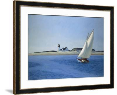 The Long Leg, 1930-Edward Hopper-Framed Art Print