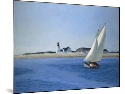 The Long Leg, 1930-Edward Hopper-Mounted Art Print