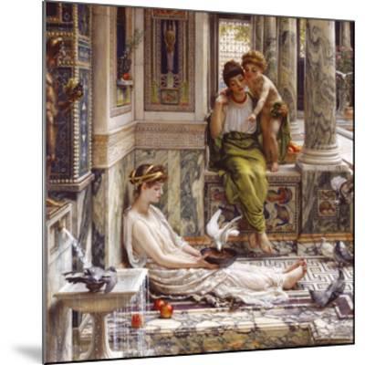 Corner of the Villa-Sir Edward John Poynter-Mounted Premium Giclee Print