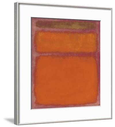 Orange, Red, Yellow, 1961-Mark Rothko-Framed Art Print