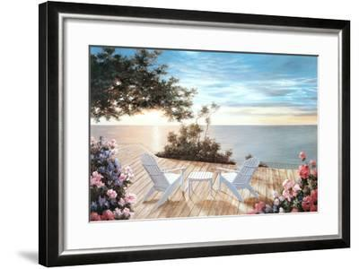 Blue Serenade-Diane Romanello-Framed Art Print