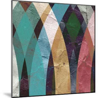 Geometric Design 3--Mounted Art Print
