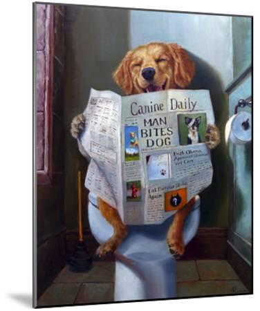 Dog Gone Funny-Lucia Heffernan-Mounted Art Print