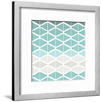 Tribal Arrows II-Nicole Ketchum-Framed Art Print