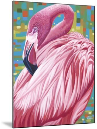 Fabulous Flamingos II-Carolee Vitaletti-Mounted Art Print