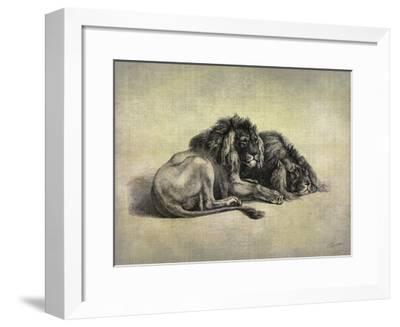 Big Cats IV-John Butler-Framed Giclee Print