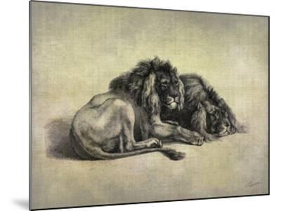 Big Cats IV-John Butler-Mounted Giclee Print