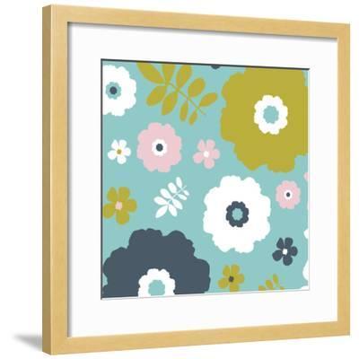 Sweet Floral I-Nicole Ketchum-Framed Art Print