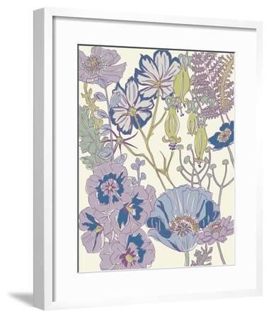 Graphic Garden III-Chariklia Zarris-Framed Giclee Print