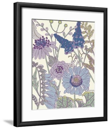 Graphic Garden IV-Chariklia Zarris-Framed Giclee Print
