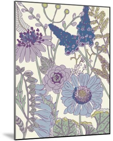 Graphic Garden IV-Chariklia Zarris-Mounted Giclee Print