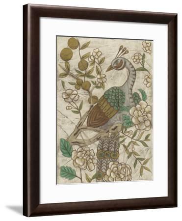 Chinoiserie Pheasant II-Chariklia Zarris-Framed Giclee Print