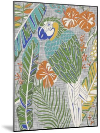 Tropical Macaw-Chariklia Zarris-Mounted Art Print