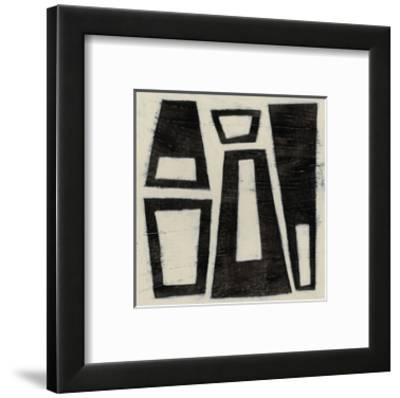 Hieroglyph IV-June Erica Vess-Framed Limited Edition