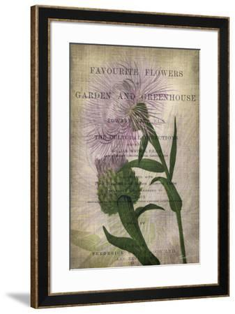 Favorite Flowers II-John Butler-Framed Giclee Print