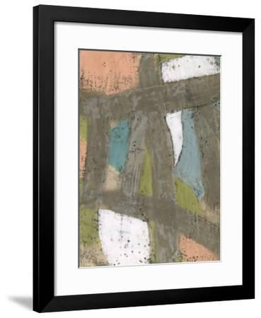 Bold Pastels II-Jennifer Goldberger-Framed Limited Edition