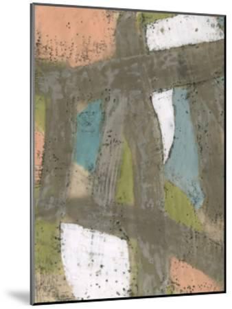Bold Pastels II-Jennifer Goldberger-Mounted Limited Edition