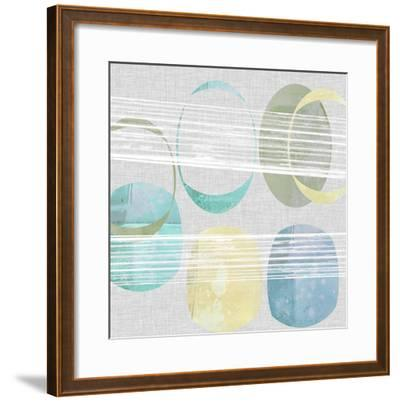 Stone Pattern II-Jennifer Goldberger-Framed Giclee Print