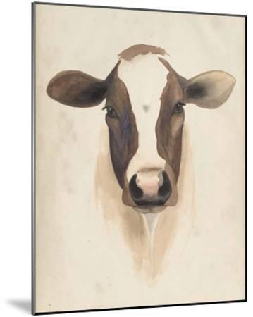 Watercolor Animal Study VII-Grace Popp-Mounted Giclee Print