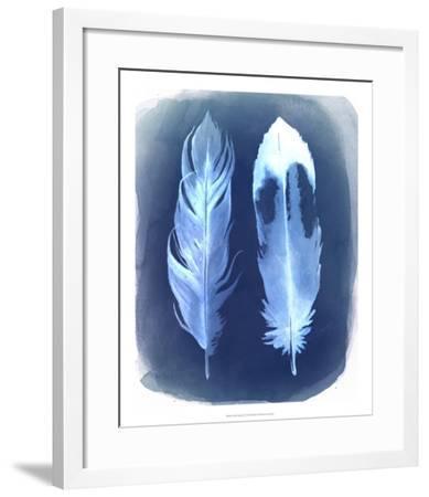 Feather Negatives II-Grace Popp-Framed Giclee Print