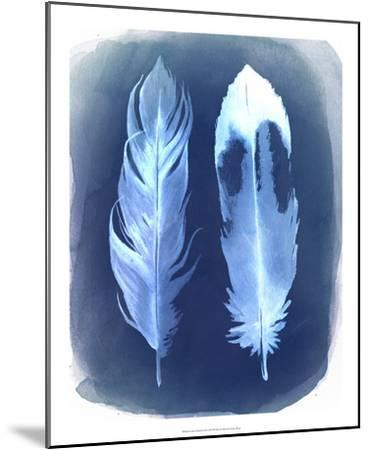 Feather Negatives II-Grace Popp-Mounted Giclee Print