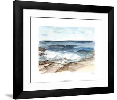 Coastal Watercolor V-Ethan Harper-Framed Limited Edition