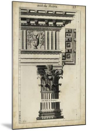 Ancient Architecture VII-John Evelyn-Mounted Giclee Print