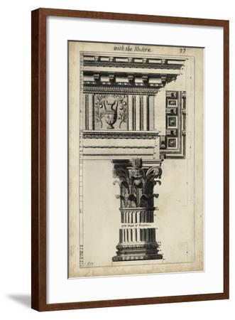 Ancient Architecture VII-John Evelyn-Framed Giclee Print