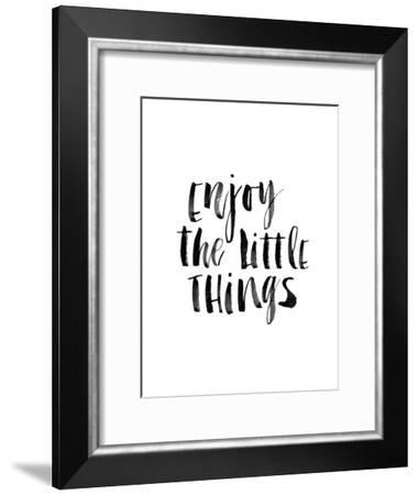 Enjoy the Little Things-Brett Wilson-Framed Art Print