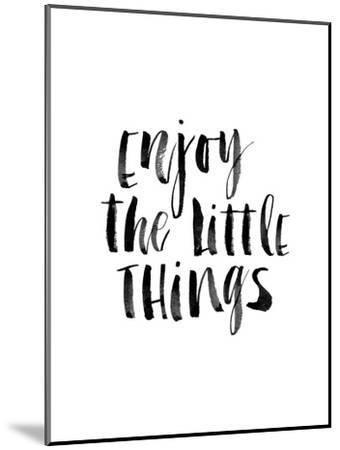 Enjoy the Little Things-Brett Wilson-Mounted Art Print