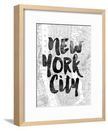 New York City-Brett Wilson-Framed Art Print