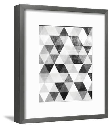 Polygon Pattern-Brett Wilson-Framed Art Print