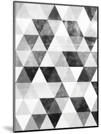 Polygon Pattern-Brett Wilson-Mounted Art Print