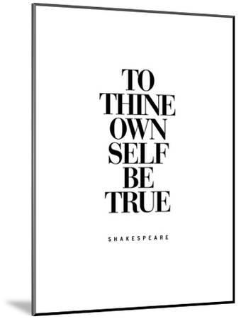 To Thine Own Self Be True-Brett Wilson-Mounted Art Print